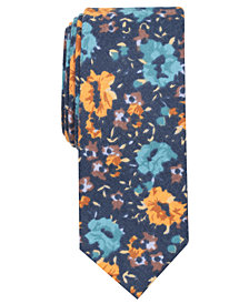 Tallia Men's Everett Floral Slim Tie