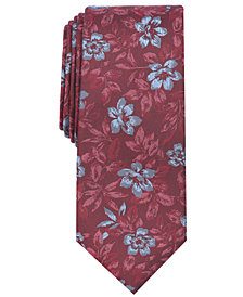 Tallia Men's Sherwood Floral Slim Tie