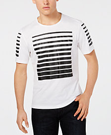 I.N.C. Men's Stripe Graphic T-Shirt, Created for Macy's