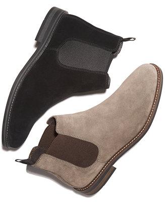 685ef8715ad077 Alfani Men s Dustin Suede Chelsea Boots