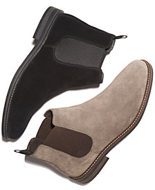 Alfani Men's Dustin Suede Chelsea Boots, Created for Macy's