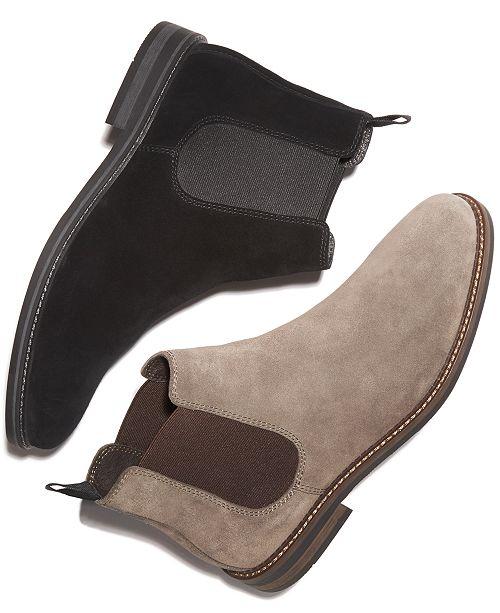 88470bbea11c Alfani Men s Dustin Suede Chelsea Boots