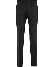 BOSS Men's Extra-Slim-Fit Virgin Wool Trousers