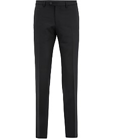 BOSS Men's Extra-Slim-Fit Virgin Wool Trousers