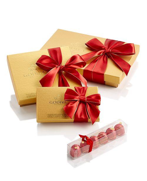 Godiva Chocolatier, Red Ribbon Ballotin Collection