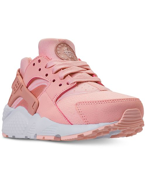 cf255669af03 Nike Girls  Air Huarache Run SE Running Sneakers from Finish Line ...