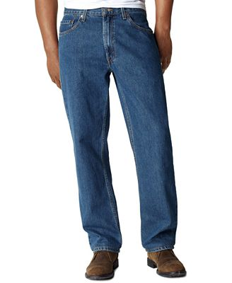 Levi's® 550™ Relaxed Fit Jeans - Jeans - Men - Macy's