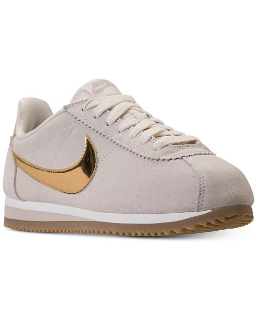 hot sales 4ee0b b04c8 ... Nike Women s Classic Cortez SE Casual Sneakers from Finish Line ...