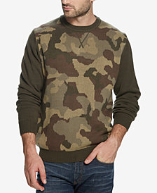 Weatherproof Vintage Men's Camo Sweater