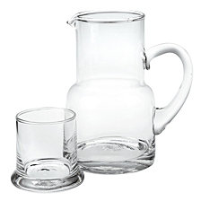 Badash Crystal 2-Piece Long Island 10 oz. Carafe Set
