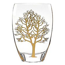 Badash Crystal Gold Tree of Life Vase