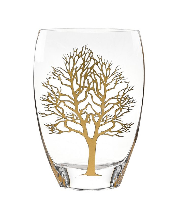 "Badash Crystal - Tree Of Life 12"" Vase"
