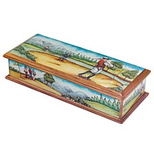 Golf Scenery Keepsake Box