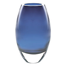 Badash Crystal Radiant Midnight Blue Vase