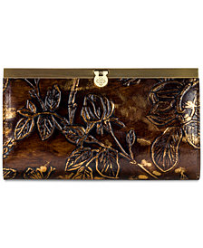 Patricia Nash Metallic Bark Leaves Cauchy Wallet, Created for Macy's