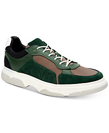 Calvin Klein Men's Penley Smooth Leather Sneakers