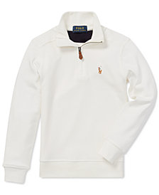 Polo Ralph Lauren Little Boys Half-Zip Supima® Cotton Pullover