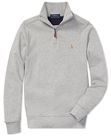 Polo Ralph Lauren Big Boys Half-Zip Supima® Cotton Pullover