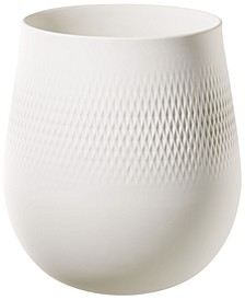White Carre Vase NO.1