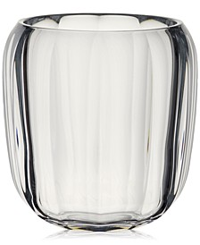 Clear Hurricane Lamp Large Vase