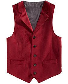 Lauren Ralph Lauren Big Boys Red Velvet Vest