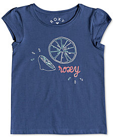Roxy Little Girls Graphic-Print Cotton T-Shirt