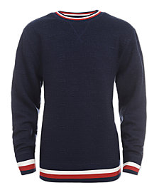 Tommy Hilfiger Big Boys Stripe Sweater