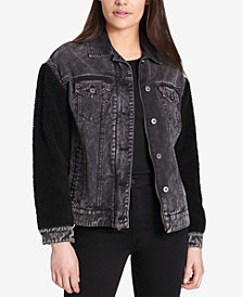 Levi's® Mixed-Media Trucker Jacket