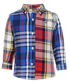 Tommy Hilfiger Big Boys Raymond Plaid Shirt