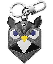 Montblanc Owl Leather Keychain