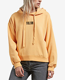 Volcom Juniors' Knew Wave Logo Graphic Hoodie