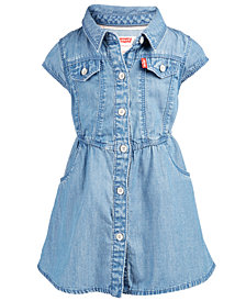 Levi's® Baby Girls Parker Denim Dress