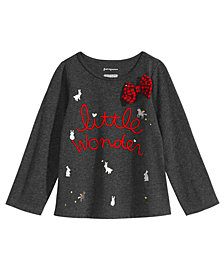 First Impressions Baby Girls Wonder-Print T-Shirt, Created for Macy's