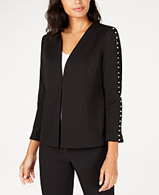 Alfani Embellished Jacket, Created for Macy's