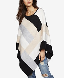 A Pea In The Pod Maternity Colorblocked Poncho