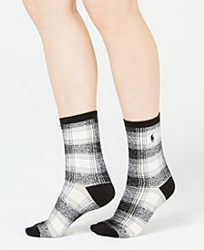 Polo Ralph Lauren Ombré Plaid Trouser Socks