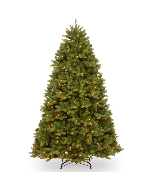 National Tree Company National Tree 8 ft. PowerConnect Newberry Spruce with Dual Color LED Lights