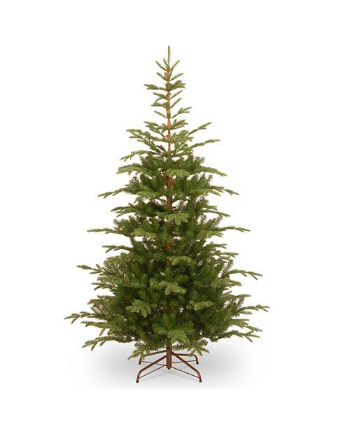 National Tree Company National Tree 7 .5' Feel Real Norwegian Spruce Hinged Tree