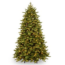 7 .5' Feel Real  Princeton Deluxe Fraser Fir Hinged Tree with 1000 Dual Color  LED Lights &  PowerConnect ™