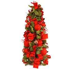 "National Tree Company 20"" Christmas Tree with Burlap"