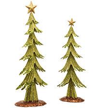 National Tree Metal Christmas Tree Set