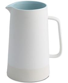 CLOSEOUT! Thirstystone Misty Blue Ceramic Pitcher