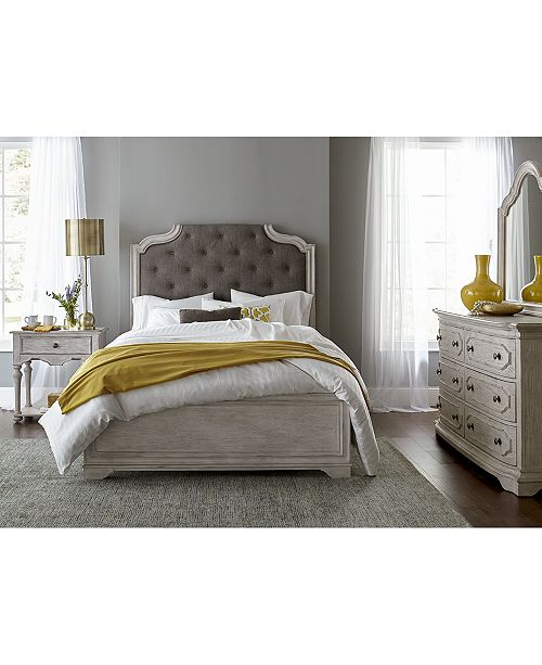Closeout! Hadley Bedroom Furniture, 3-Pc. Set (King Bed, Nightstand, and  Dresser), Created for Macy\'s