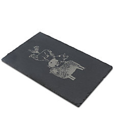 Thirstystone Stacked Animals Slate Serving Board