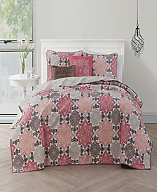 Greer 5 Pc Queen Quilt Set