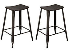 Saddle Backless Counter Stool