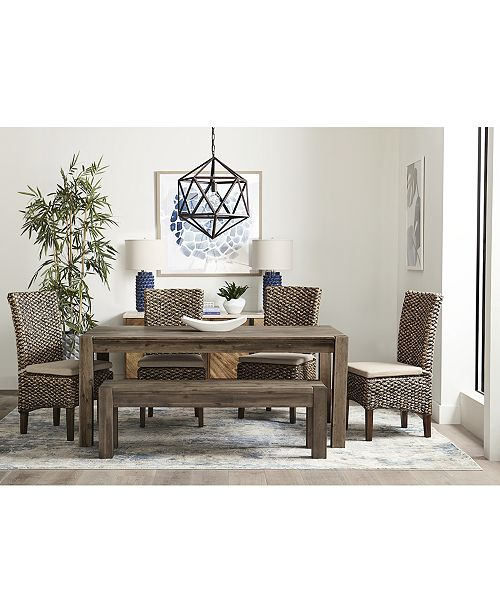 Fabulous Canyon 58 Dining Bench Created For Macys Pdpeps Interior Chair Design Pdpepsorg