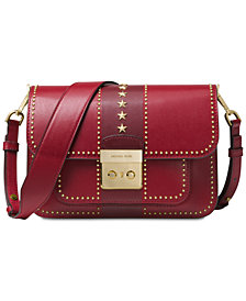 MICHAEL Michael Kors Sloan Editor Star Studded Shoulder Bag