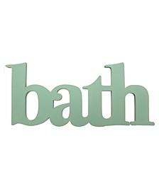 Stratton Home Decor Seafoam Bath Wall Decor