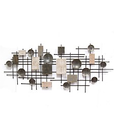 Stratton Home Decor Large Modern Industrial  Wall Decor